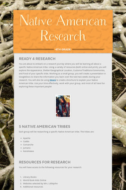 Native American Research
