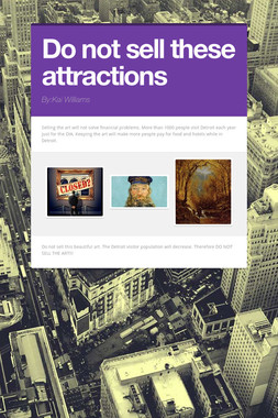 Do not sell these attractions