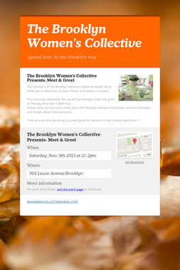 The Brooklyn Women's Collective