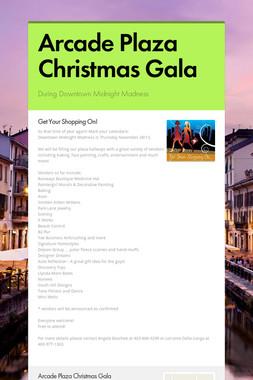 Arcade Plaza Christmas Gala