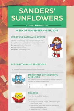 Sanders' Sunflowers