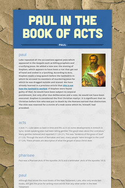 paul in the book of acts