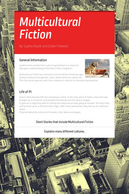 Multicultural Fiction