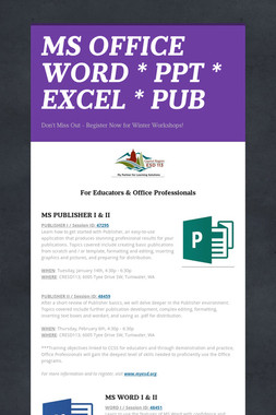 MS OFFICE  WORD * PPT * EXCEL * PUB