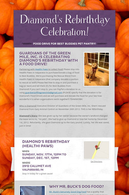 Diamond's Rebirthday Celebration!