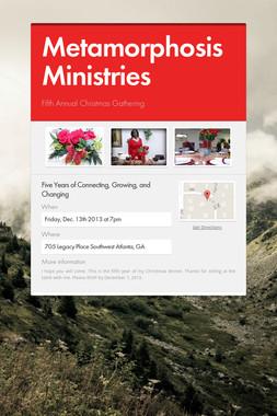 Metamorphosis Ministries
