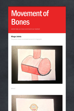 Movement of Bones