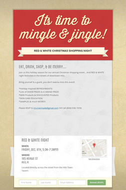Its time to mingle & jingle!