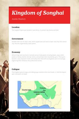Kingdom of Songhai