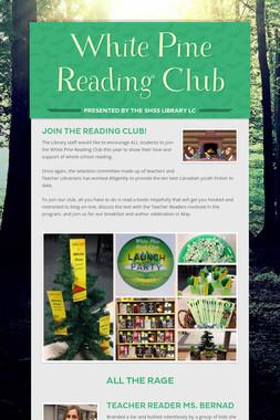 White Pine Reading Club