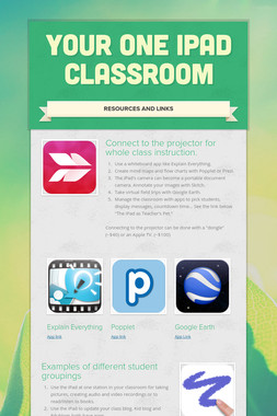 Your One iPad Classroom