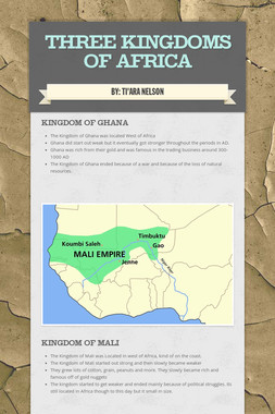 Three Kingdoms of Africa