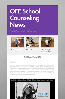 OFE School Counseling News