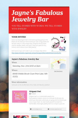 Jayne's Fabulous Jewelry Bar