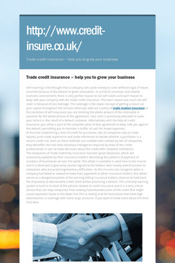 http://www.credit-insure.co.uk/
