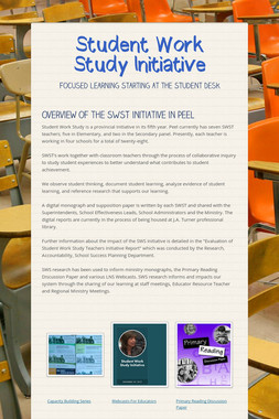 Student Work Study Initiative