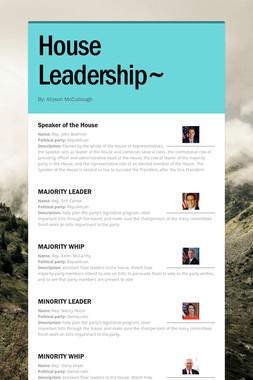 House Leadership~