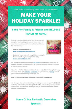 Make Your Holiday Sparkle!