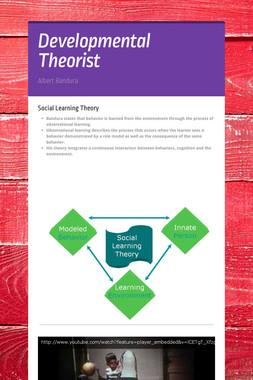 Developmental Theorist