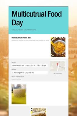 Multicutrual Food Day