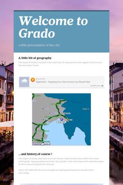 Welcome to Grado