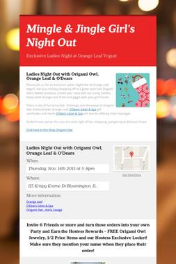 Mingle & Jingle Girl's Night Out