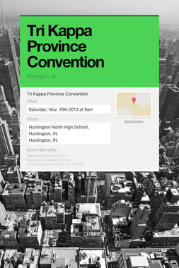 Tri Kappa Province Convention