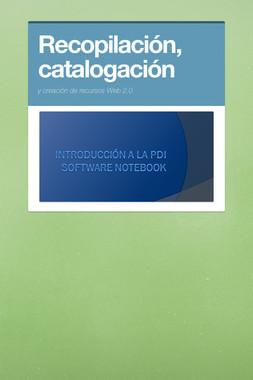 Recopilación, catalogación