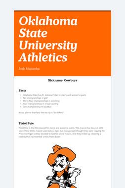 Oklahoma State University Athletics