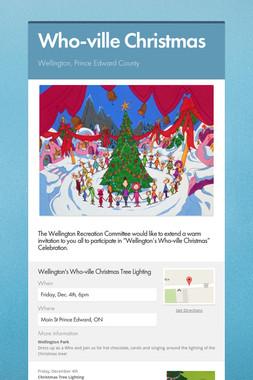 Who-ville Christmas