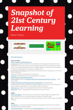 Snapshot of 21st Century Learning
