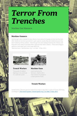 Terror From Trenches