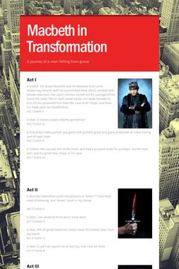 Macbeth in Transformation