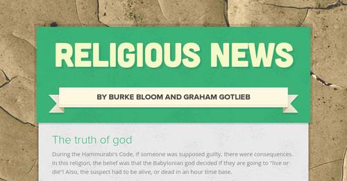 Religious News