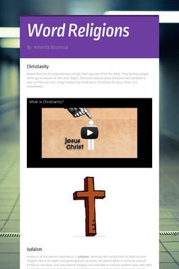 Word Religions