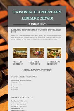 Catawba Elementary Library News!