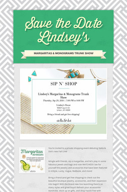 Save the Date Lindsey's
