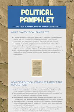Political Pamphlet