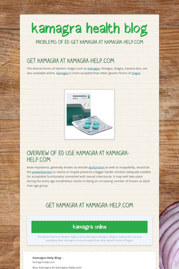 kamagra health blog