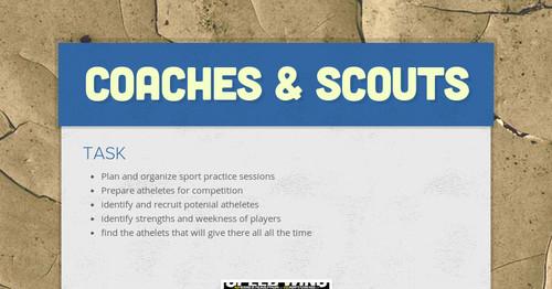 Coaches & Scouts