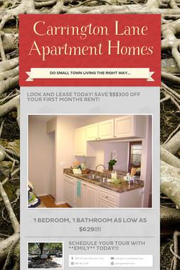 Carrington Lane Apartment Homes
