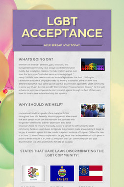 LGBT Acceptance