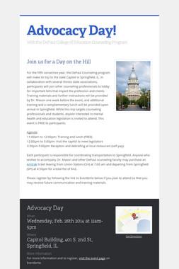 Advocacy Day!