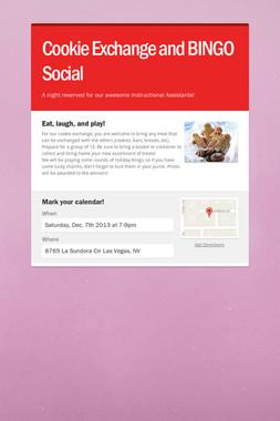 Cookie Exchange and BINGO Social