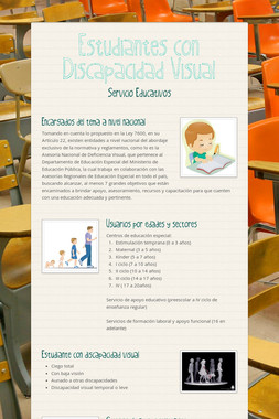 Estudiantes con Discapacidad Visual