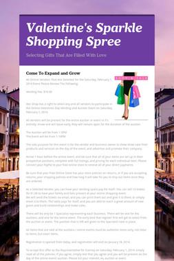 Valentine's Sparkle Shopping Spree