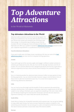 Top Adventure Attractions