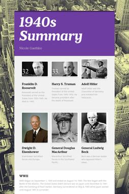 1940s Summary