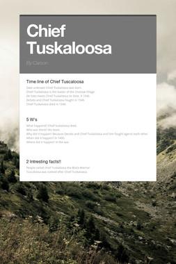 Chief Tuskaloosa