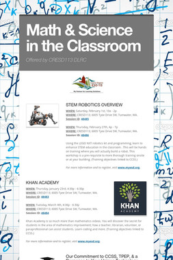 Math & Science in the Classroom